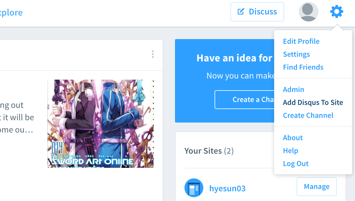 Add Disqus To Site