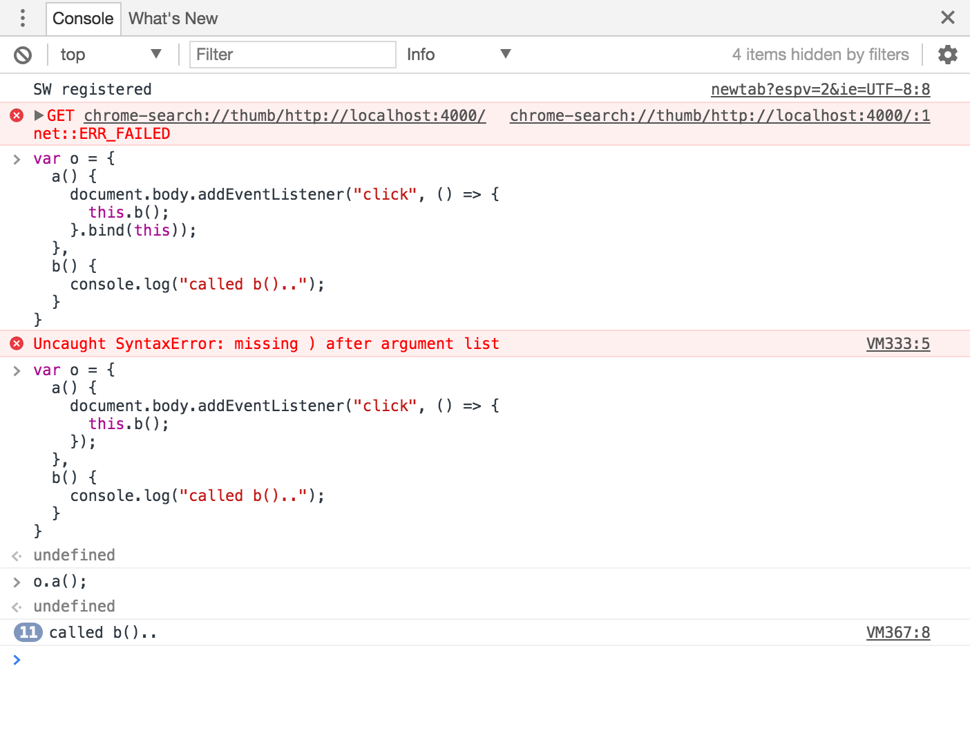 javascript arrow function this binding