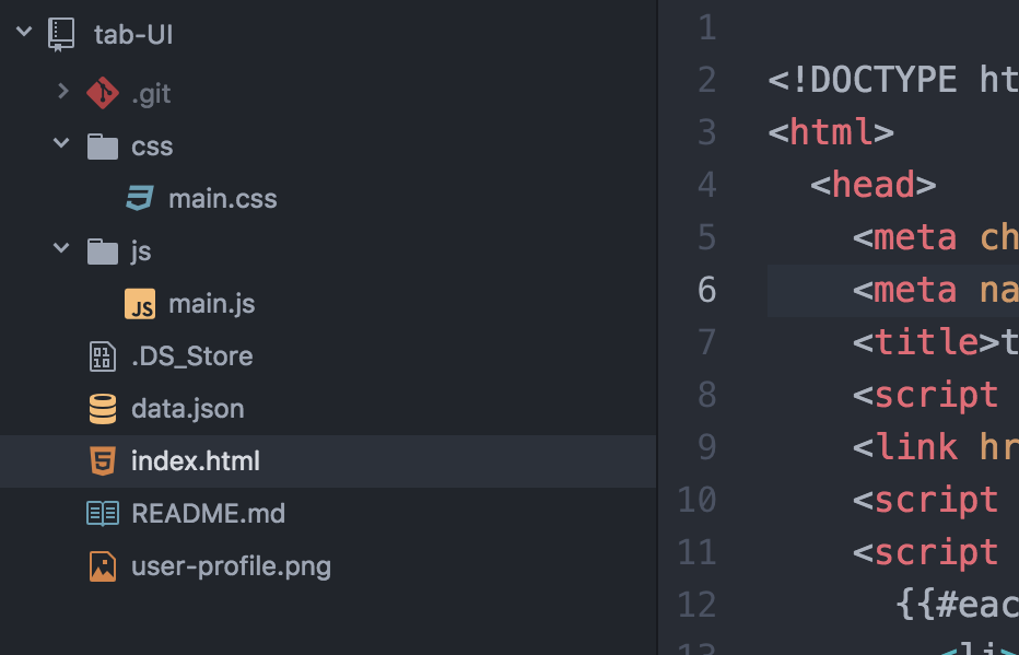 atom package: file-icons